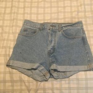 brandy melville | charlotte denim shorts